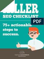 Killer SEO Checklist e Book