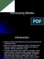 Addressing Modes 2012