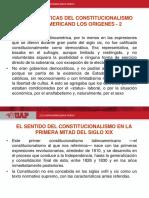 El Constitucionalismo Latinoamericano - II