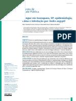Dengue Em Araraquara, S- Epidemiologia, Clima e Infestação Por Aedes Aegypti