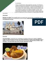 Rutas Gastronomíca de El Salvador