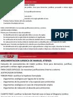 Argumentacion Segun Manuel Atienza