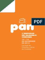 V Simposio El Pan