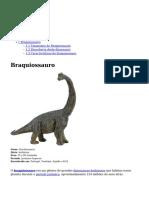 O Braquiossauro