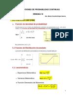 Distribuciones de Probabilidad Continuas