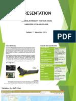 Presentation UAV