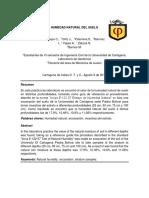 Informe Humedad Natural