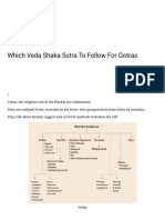 Which Veda Shaka Sutra to Follow for Gotras – Ramani's Blog