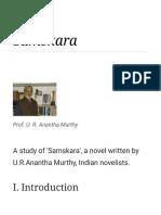 Samskara Translation