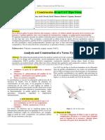 Informe para un dron versa