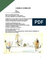Cuento Camilo Comilon