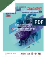 Programa Intercanvis Musicals 2019