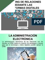 MARKETING DE RELACIONES MEDIANTE LAS PLATAFORMAS DIGITALES.ppt