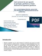 Contaminacion Del Agua Por Petroleo