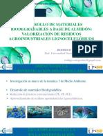 Biopolimeros Naturales Usados en Empaques Biodegradable