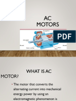 Ppt on Ac Motors