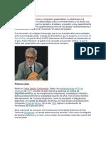 Biografia José Ernesto Monzón
