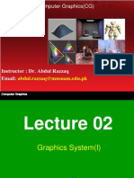 Cg Lecture 02