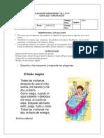 Evaluación  CONSONANTES, Lenguaje y Comunicación 1° Básico