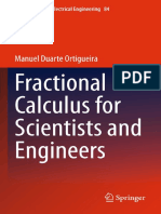 Fractional Calculus for Scientis and Engineers - M. Duarte O. - Springer