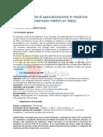 Información Para Extranjeros Concurso SSM Italia