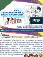 Defensoria Comunitaria de Niños, Niñas y Adolescentes