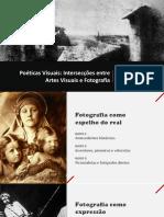 interseção entre arte e fotografia