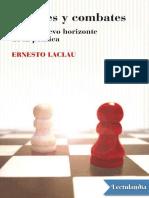 Debates y Combates - Ernesto Laclau
