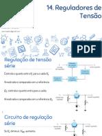 Eletrônica Analógica - 14. Reguladores de Tensão Integrados