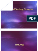 Traditional Teaching Strategies