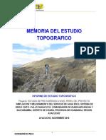 2. Informe Topografico CHITO PALLCCA...