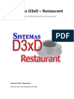 Manual d3xd Restaurant