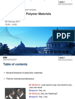 151 0548 FS2017 K3 Introduction to Polymer Materials