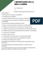 Datos Importantes de La Carbela Laniña
