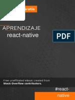 Aprendizaje react-native
