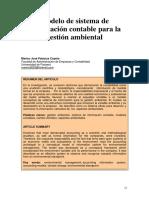 Modelo de Sistema Contable Para Gestion Ambiental Palacios Copete