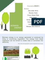 Biomass study