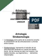 Artrología (Sindesmología)