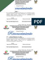 Reconocimientos APF 2018-2019