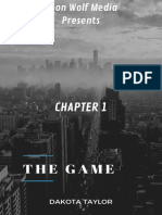 The Game Chapter 1 by Dakota Taylor