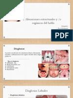 disglosias