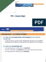 Tp5 - Oracle Objet