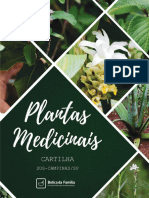 Cartilha Plantas Medicinais Campinas
