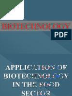 Kelompok 3 - Ppt Bioteknologi Dalam Bidang Pangan