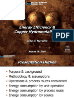 Energy Efficiency Copper Hydrometallurgy