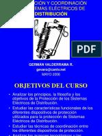 CURSO Prf Valderrama - Protecciones de Sistemas de Distribución Mayo 2006