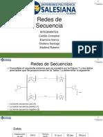 Redes de Secuencia Castillo Espinoza Orellana Sisalima
