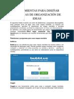Herramientas Para Diseñar Esquemas de Organización de Ideas
