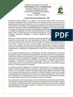 Proceso de Observación - Gustavo, Didier