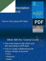 APA Format Bibliography